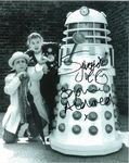Sylvester McCoy and Sophie Aldred - Signed 10 x 8. This is an original autograph not a copy 10254